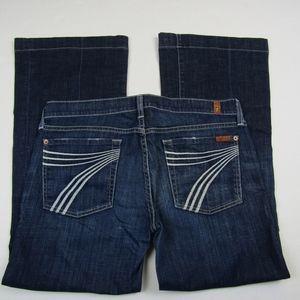7FAM Dojo Flip Flop Flare Jeans - 31